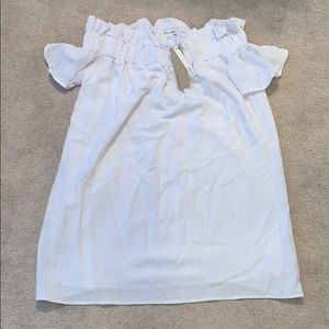 NWT Off the shoulder dress